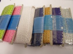 1 Roll Ric Rac Zig Lace Braid trimming 27 Wedding Favours rick rack trim